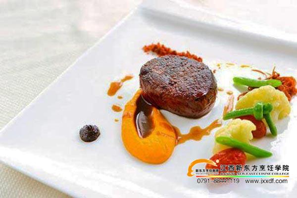 西餐专业菜品展示